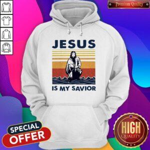 Official Jesus Is My Savior Vintage Hoodie