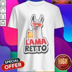 Official Lama Retto Shirt
