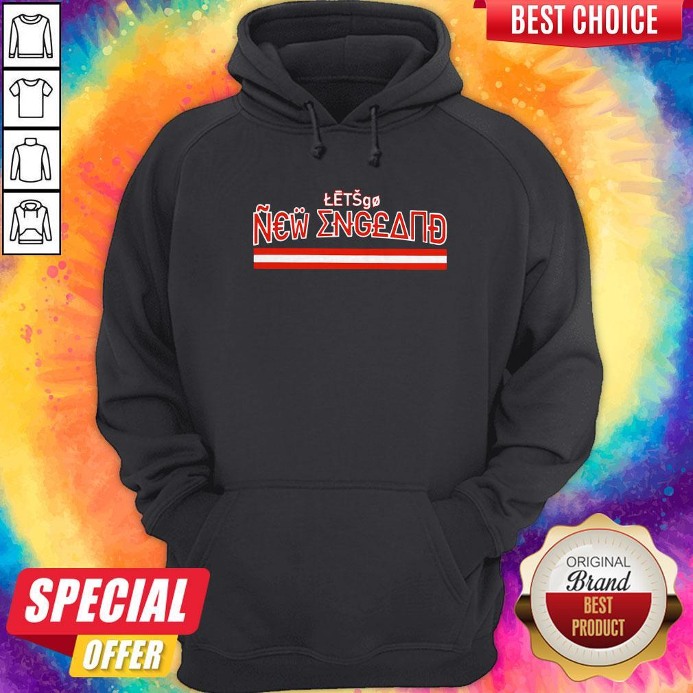 Official Let's Go New England Hoodie