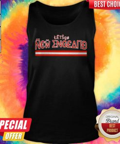 Official Let's Go New England Tank Top