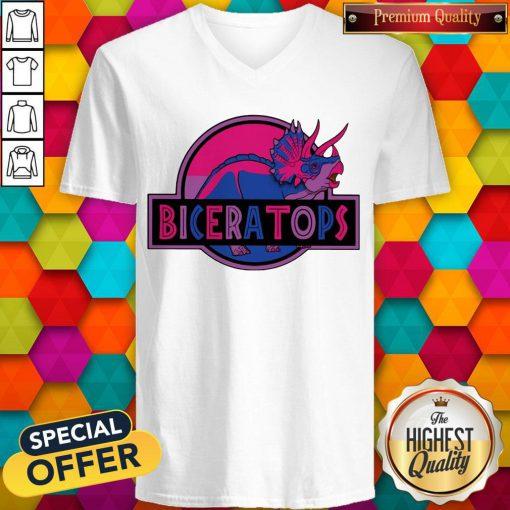 Official LGBT Biceratops V-neck