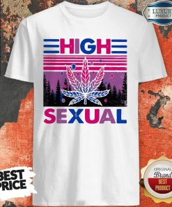 Official LGBT Weed High Sexual Shirt