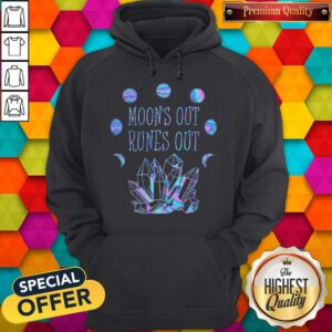 Official Moon's Out Runes Out Hoodie