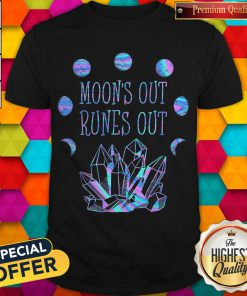 Official Moon's Out Runes Out Shirt