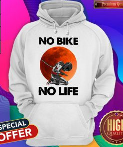 Official No Bike No Life Sunset Hoodie