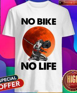 Official No Bike No Life Sunset Shirt