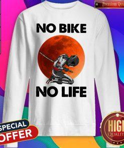 Official No Bike No Life Sunset Sweatshirt