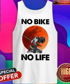 Official No Bike No Life Sunset Tank Top