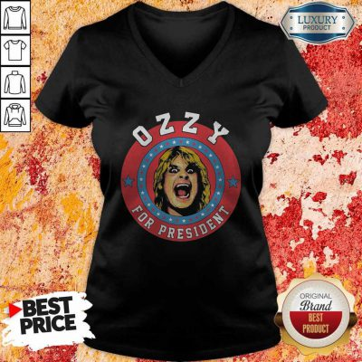 Official Ozzy For President V-neck