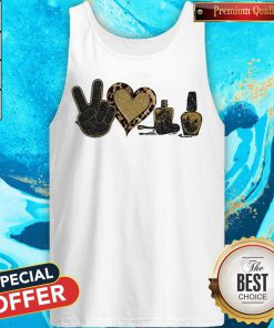 Official Peace Love Nails Diamond Tank Top