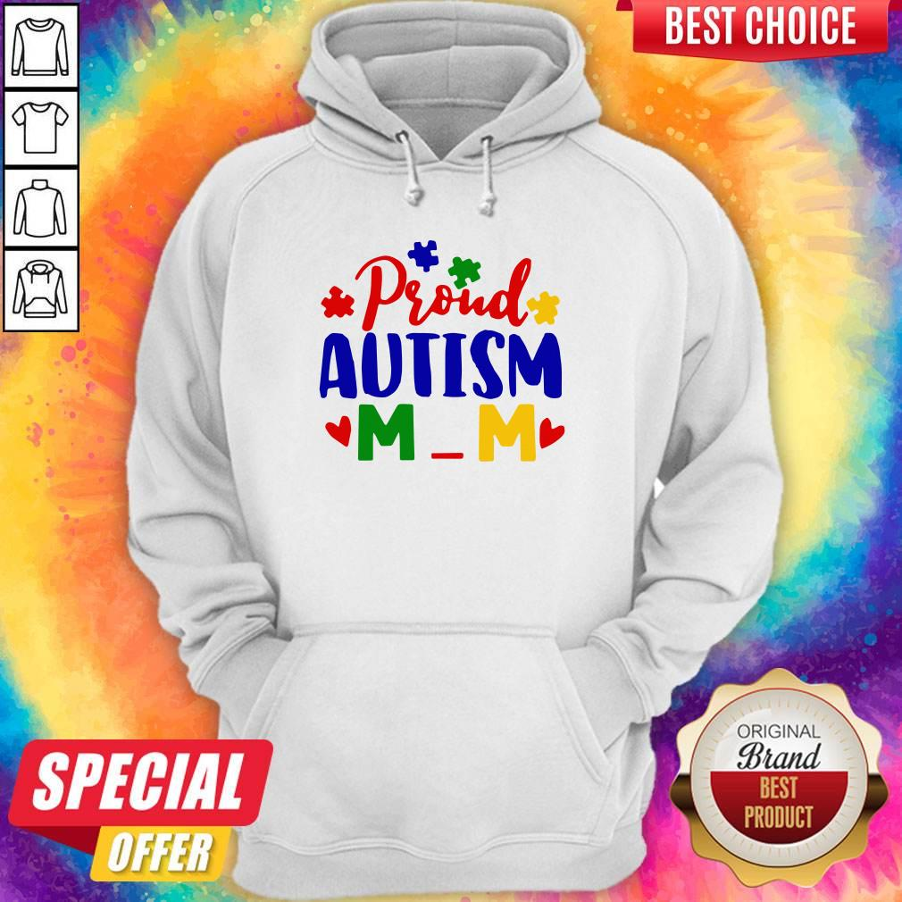 Official Proud Autism Mom Hoodie