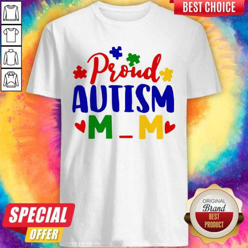 Official Proud Autism Mom Shirt