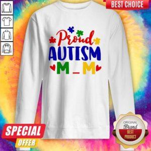 Official Proud Autism Mom Sweatshirt