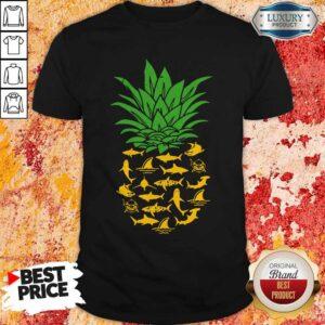 Official Shark Pineapple Shirt