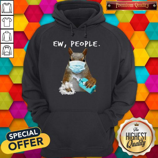 Official Squirrel Face Mask Ew People Hoodie