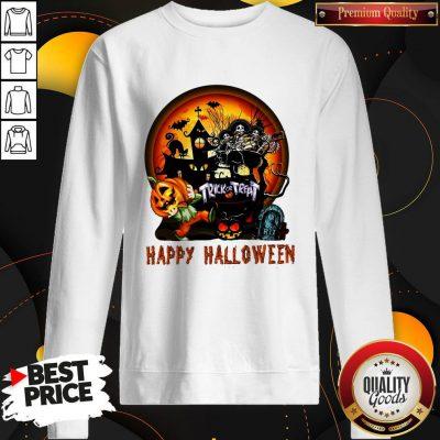Perfect Trick Or Treat Happy Halloween Sweatshirt