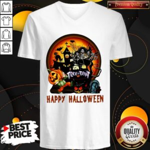 Perfect Trick Or Treat Happy Halloween V-neck