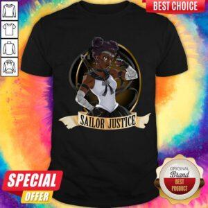 Sailor Justice BLM Sailor Moon Shirt