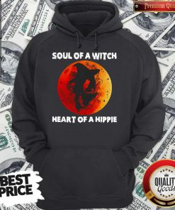 Soul Of A Witch Heart Of A Hippie Sunset Hoodie