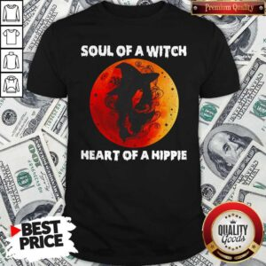 Soul Of A Witch Heart Of A Hippie Sunset Shirt