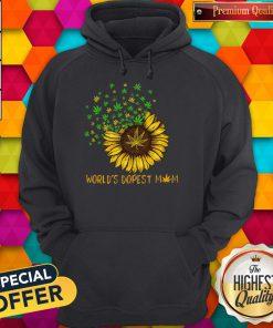Sunflower World's Dopest Mom Hoodie