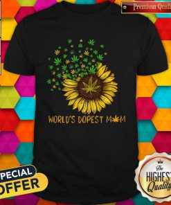 Sunflower World's Dopest Mom Shirt