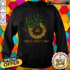 Sunflower World's Dopest Mom Sweatshirt