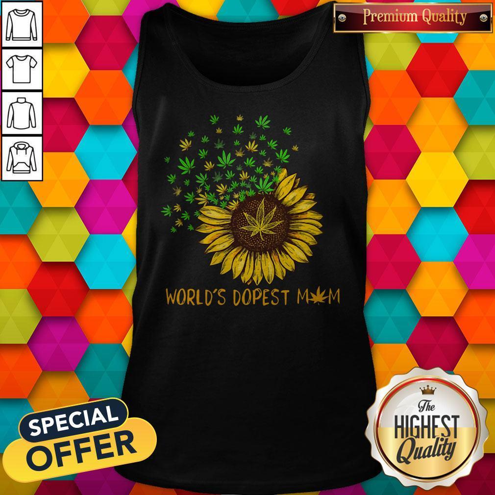 Sunflower World's Dopest Mom Tank Top