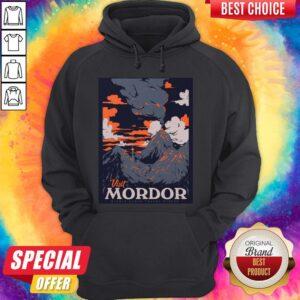 Visit Mordor Middle Earth Hoodie
