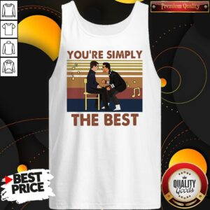 You're Simply The Best Vintage Tank Top
