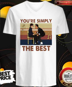 You're Simply The Best Vintage V-neck