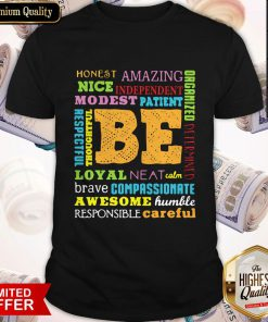 Be Awesome Word Cloud Growth Mindset Teacher Power Of Yet Shirt