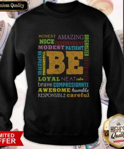 Be Awesome Word Cloud Growth Mindset Teacher Power Of Yet Sweatshirt
