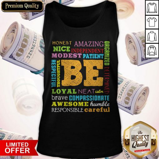 Be Awesome Word Cloud Growth Mindset Teacher Power Of Yet Tank Top