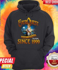 Funny Everquest Social Distance Training Since 1999 Hoodie