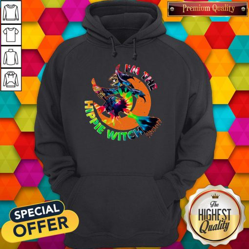 Funny I'm The Hippie Witch Halloween Hoodie