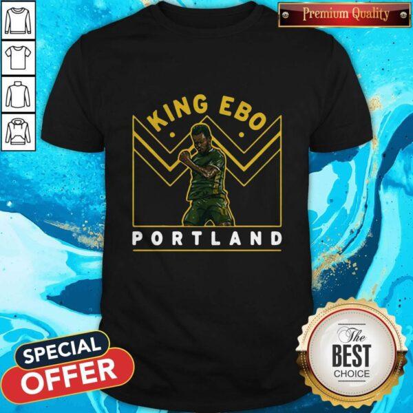Funny Jeremy Ebobisse King Ebo Portland Shirt