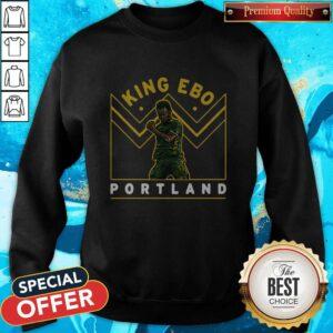 Funny Jeremy Ebobisse King Ebo Portland Sweatshirt
