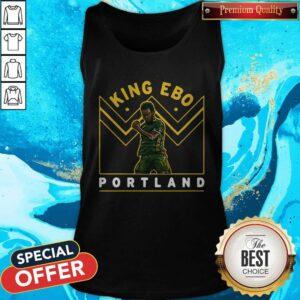 Funny Jeremy Ebobisse King Ebo Portland Tank Top