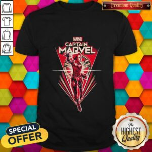 Good Marvel Captain Marvel Superwoman Shirt