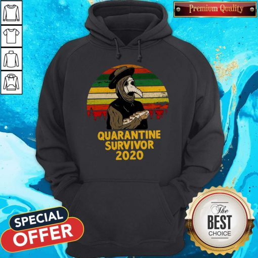 Good Plague Doctor Quarantine Survivor 2020 Hoodie