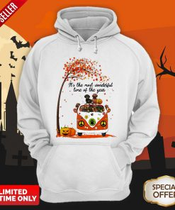 Halloween Dachshunds Pumpkin It's The Most Wonderful Time Of The Year Hoodie
