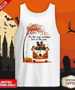 Halloween Dachshunds Pumpkin It's The Most Wonderful Time Of The Year Tank Top