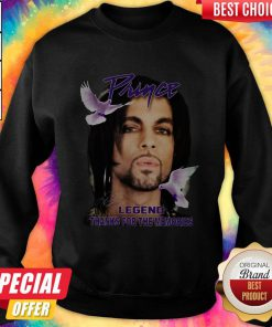 Happy Prince Legend Thanks For The Memories Signature Sweatshirt