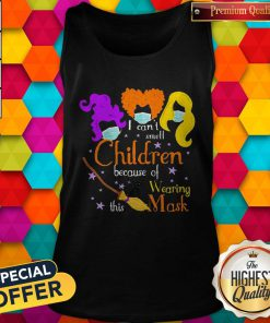 Hocus Pocus I Can't Smell Children Because Of Wearing This Mask Tank Top