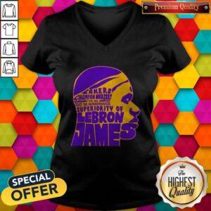 Hot Los Angeles Lakers Champion Nba 2020 2021 Lebron James V-neck
