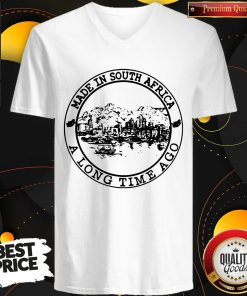 Nice Made In South Africa A Long Time Ago V-neck