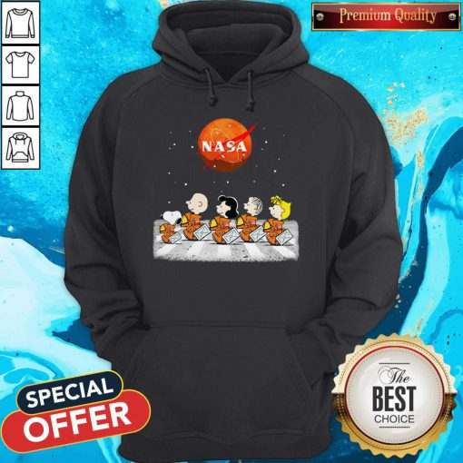 Nice Peanuts Heads Back To Space Nasa Hoodie