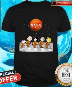 Nice Peanuts Heads Back To Space Nasa Shirt