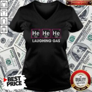 Official Laughing Gas Helium V-neck